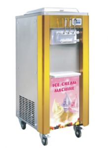 Fast delivery Small Deep Fryer - Soft Serve Ice Cream Machine with 2 Hoppers – Mijiagao