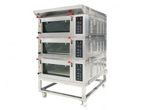 Electric Deck Oven DE 3.06-H