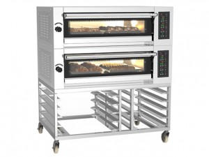 China Electric Deck Oven/China Hot Air Bakery Oven/Multifunction High Temperature Oven/ Deck Oven DE 2.04