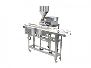 Chinese Factory Supplier Automatic Paste Liquid Filling Machine/Gear Pump Paste Filling Machine With Conveyor