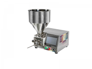 Liquid Filling/Cake Donut Cream Injector Cream Filling Machine with Servo System + PLC + Touch Screen