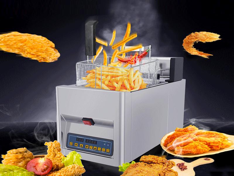 MIJIAGAO 8-litre electric Deep fryer with Auto-lift