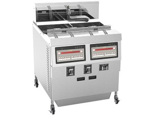Open Fryer- two Well-Computer Control with oil filter 27.2kW