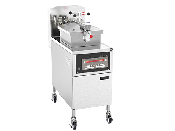 China Fryer Gas Professional standing Fryer gas Single tank 25 litres PFG-800 Featured Image