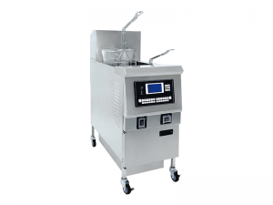 China Open Fryer/Open Fryer Factory single Well Gas Open Fryer With LCD Control